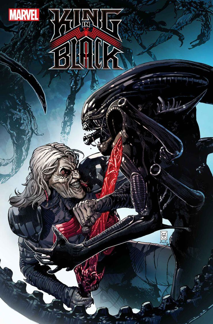 marvel aliens official variant cover13 1 - Xenomorphs Invade The Marvel Universe In Stunning New Official ALIEN Variant Covers
