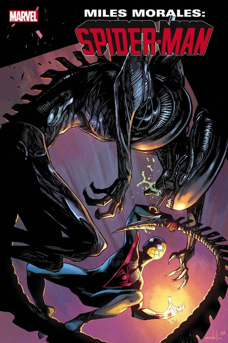 marvel aliens official variant cover14 1 - Xenomorphs Invade The Marvel Universe In Stunning New Official ALIEN Variant Covers