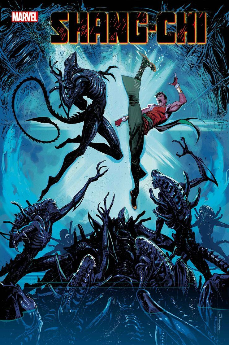 marvel aliens official variant cover15 1 - Xenomorphs Invade The Marvel Universe In Stunning New Official ALIEN Variant Covers