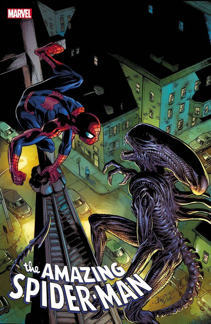 marvel aliens official variant cover18 1 - Xenomorphs Invade The Marvel Universe In Stunning New Official ALIEN Variant Covers