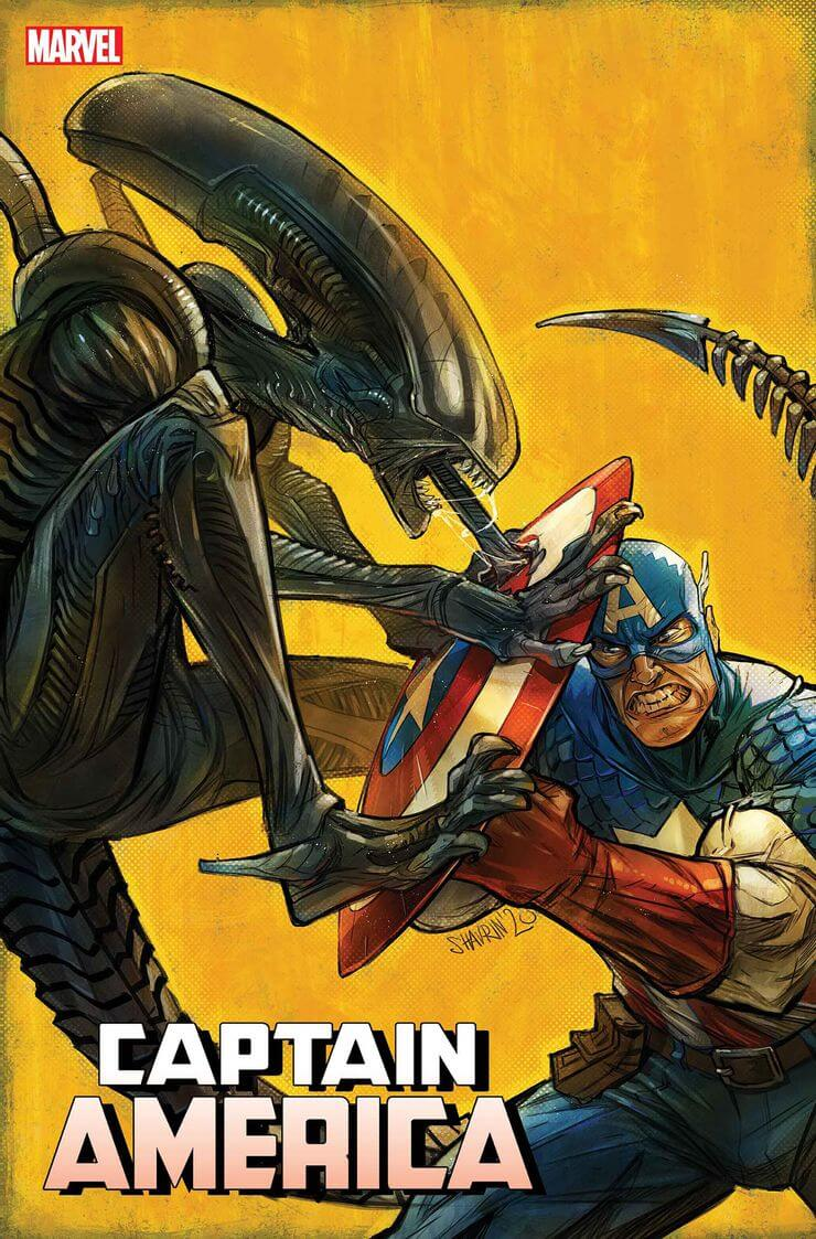 marvel aliens official variant cover4 1 - Xenomorphs Invade The Marvel Universe In Stunning New Official ALIEN Variant Covers