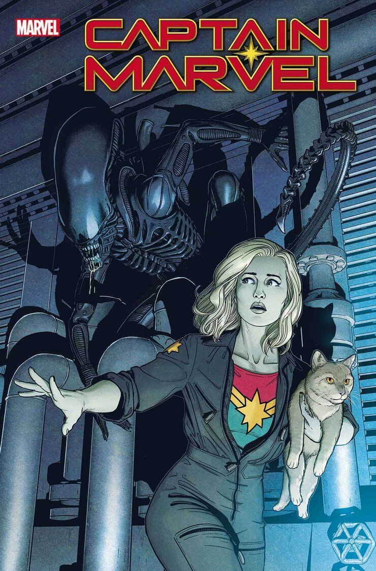 marvel aliens official variant cover7 1 - Xenomorphs Invade The Marvel Universe In Stunning New Official ALIEN Variant Covers