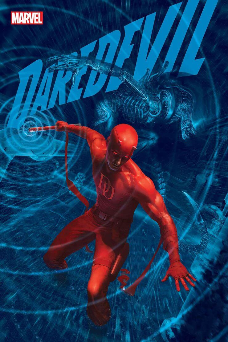 marvel aliens official variant cover8 1 - Xenomorphs Invade The Marvel Universe In Stunning New Official ALIEN Variant Covers