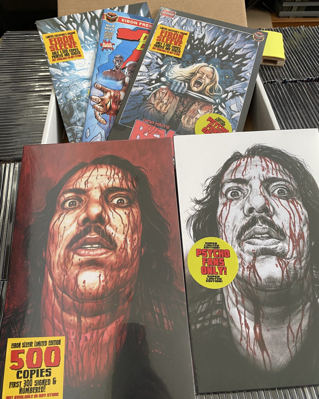 unnamed 2 1024x1283 - Eibon Press News: BEYOND #4 & MANIAC COLLECTION Begin Shipping Today