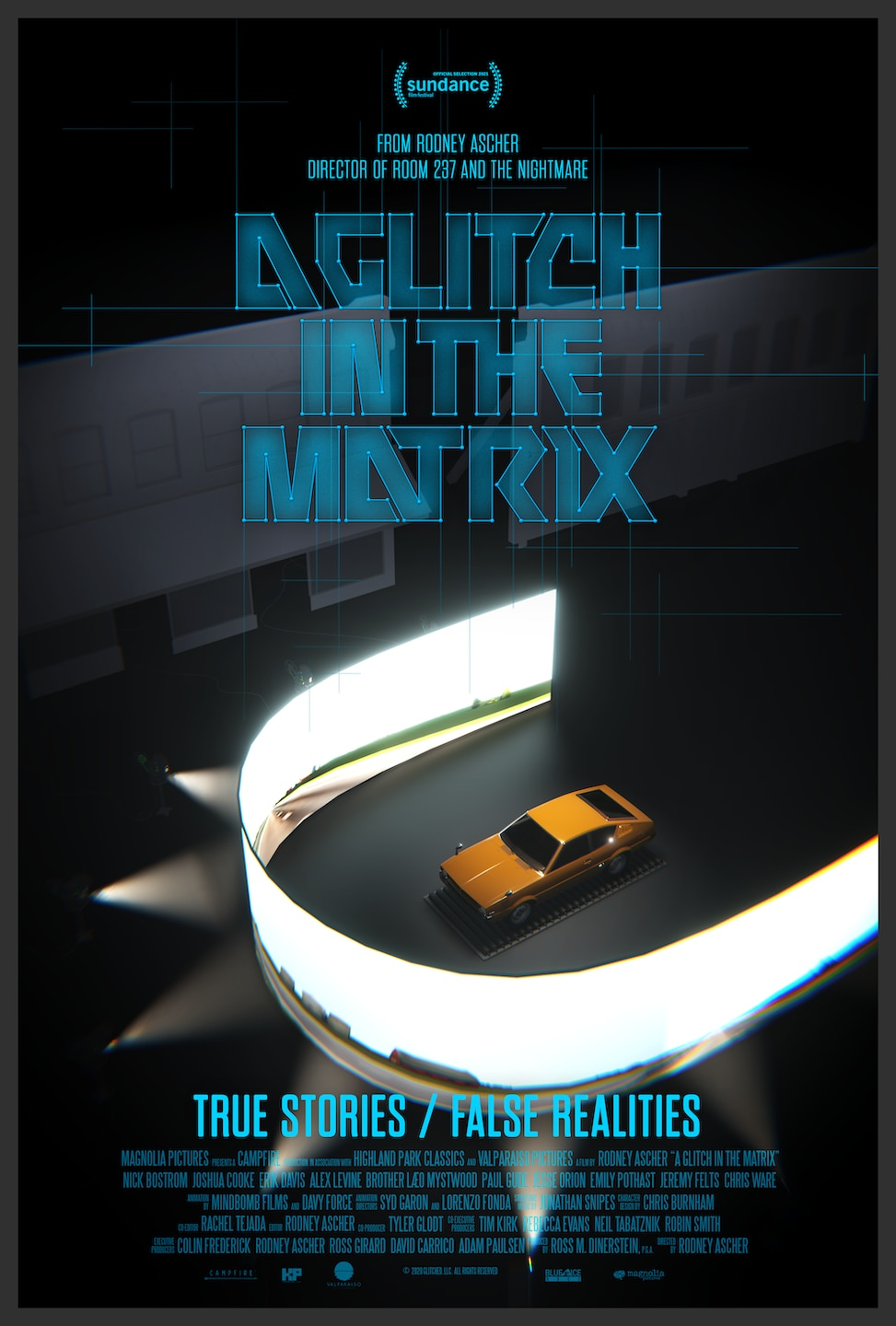 """A Glitch in the Matrix Poster - Sundance 2021: A GLITCH IN THE MATRIX Review - New Doc Asks """"Are We Living In A Simulation?"""""""