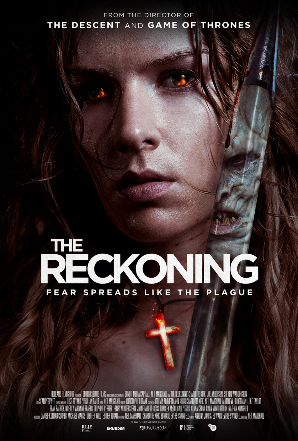"the reckoning 1080X1600 THT 1024x1517 - Charlotte Kirk ""Confesses"" in Our Exclusive Clip from Neil Marshall's Plague Horror THE RECKONING"