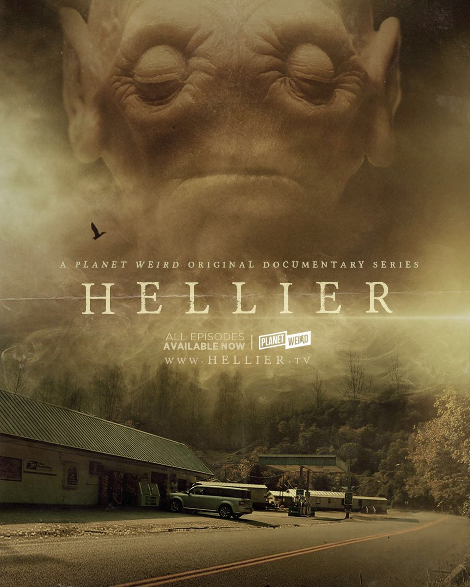 "HELLIER poster jpg - Virtual Panel Series ""Dissecting Horror"" Continues January 13th with Team Behind Paranormal Docuseries HELLIER"