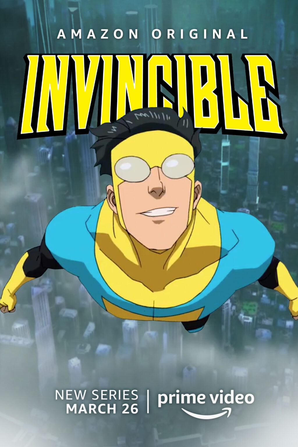 Invincible 1024x1536 - First Clip from Robert Kirkman's Violent Adult Animated Series INVINCIBLE Arriving March 26th