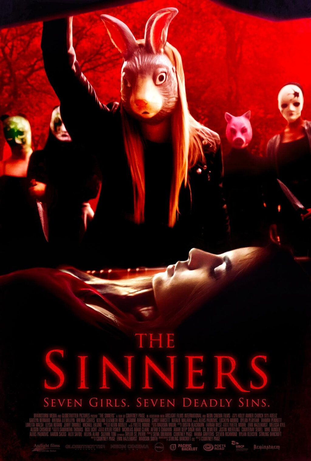 The Sinners Poster 1024x1517 - Video Interview: Director Courtney Paige Talks Debut Feature THE SINNERS