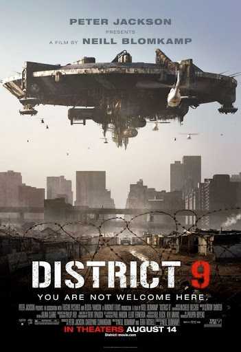 District 9 poster - Neill Blomkamp Says DISTRICT 9 Sequel, DISTRICT 10, Is Happening! Screenplay Currently In the Works!