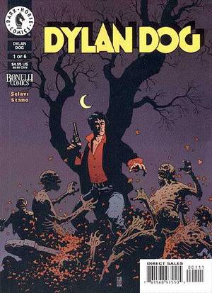 Dylan Dog - The Other Cursed Pages: 4 More Comics for Horror Fans