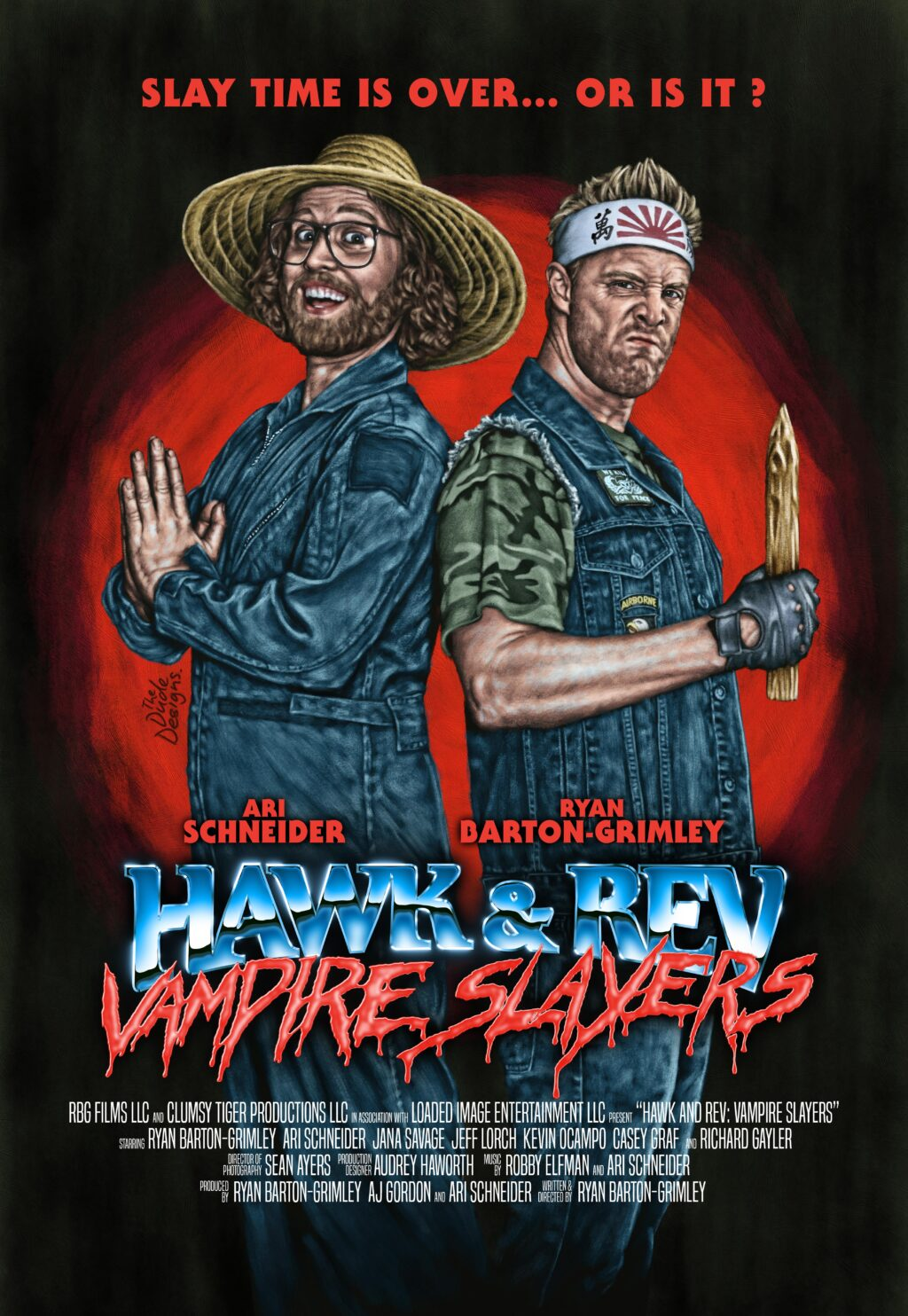 HR VS Official current 1024x1484 - Trailer: Horror-Comedy HAWK & REV: VAMPIRE SLAYERS Arrives on VOD and DVD Beginning March 16th