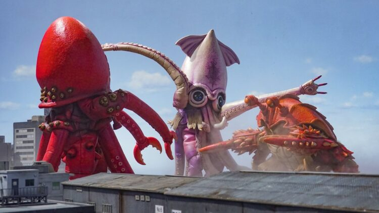 Moster Seafood Wars Banner 750x422 - Trailer: Kaiju Make Good Soup in Crazy Trailer for MONSTER SEAFOOD WARS