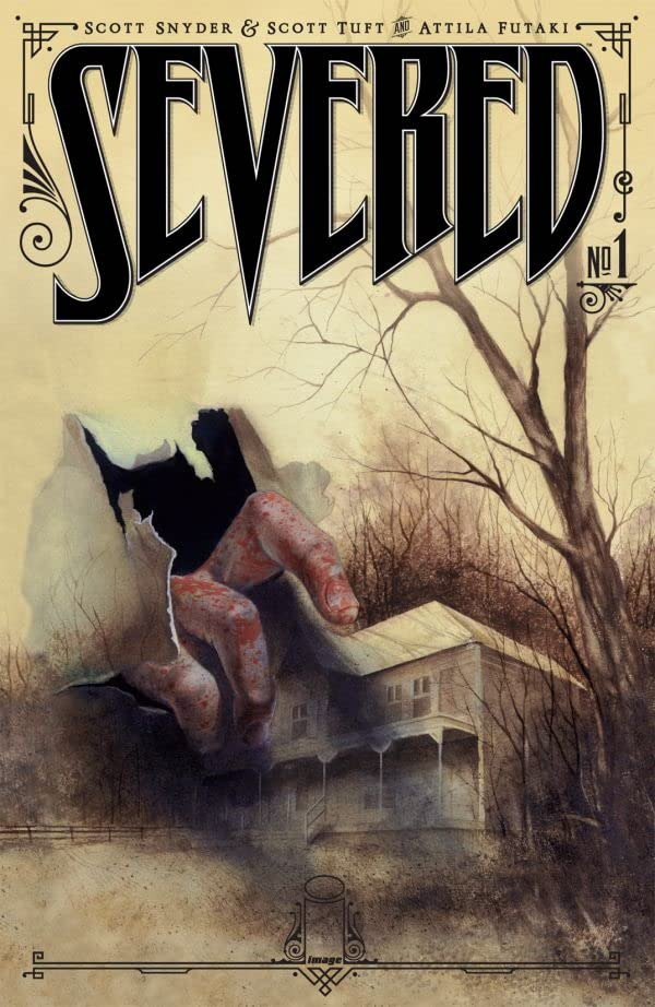 Severed 1 - The Other Cursed Pages: 4 More Comics for Horror Fans