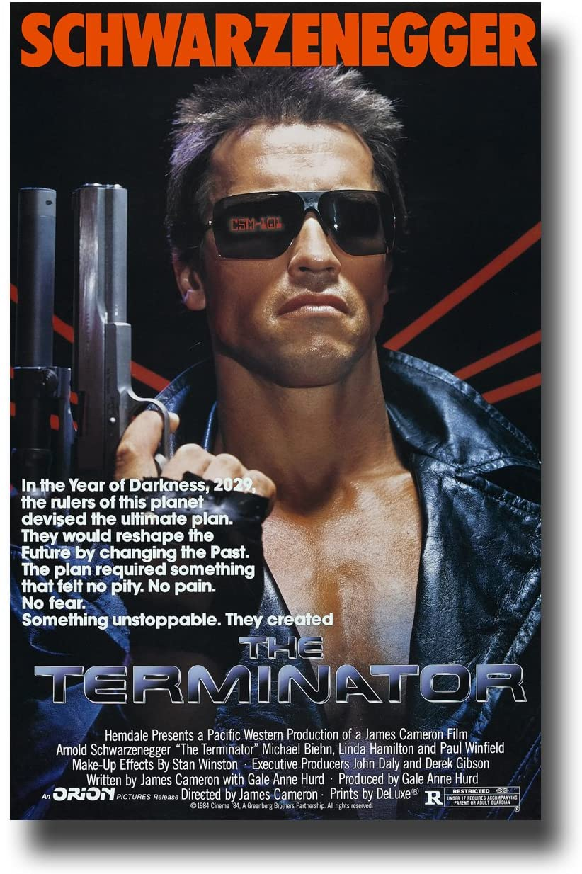 Terminator poster - There a TERMINATOR Anime Series In the Works at Netflix