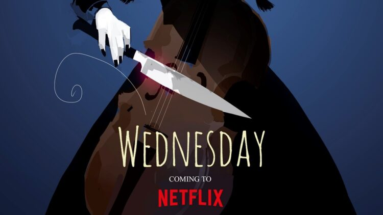 Wednesday banner 750x422 - Breaking: Tim Burton Will Make His TV Directorial Debut with Wednesday Addams Spinoff Series!