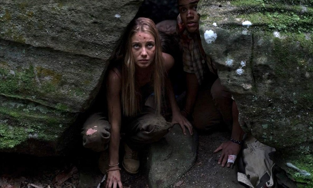 Wrong Turn 2021 Still - Exclusive Interview: Charlotte Vega on Her Kickass Role in WRONG TURN & Working With Matthew Modine