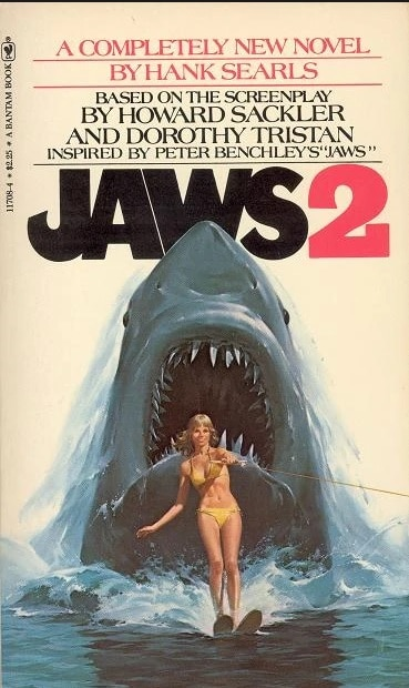 jaws 2 1 - Horror in Print: My Personal Journey With Horror (Swimming Upstream PART 5)