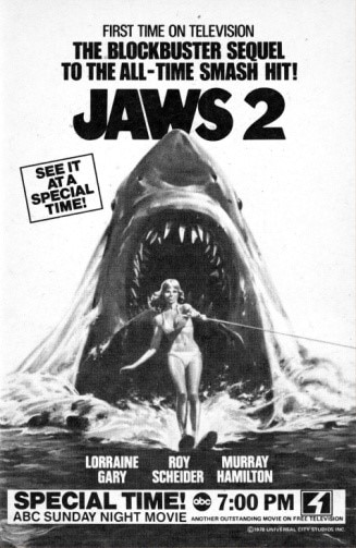 jaws - Late Night in the Reagan Era: Swimming Upstream on A Personal Horror Journey (PART 4)