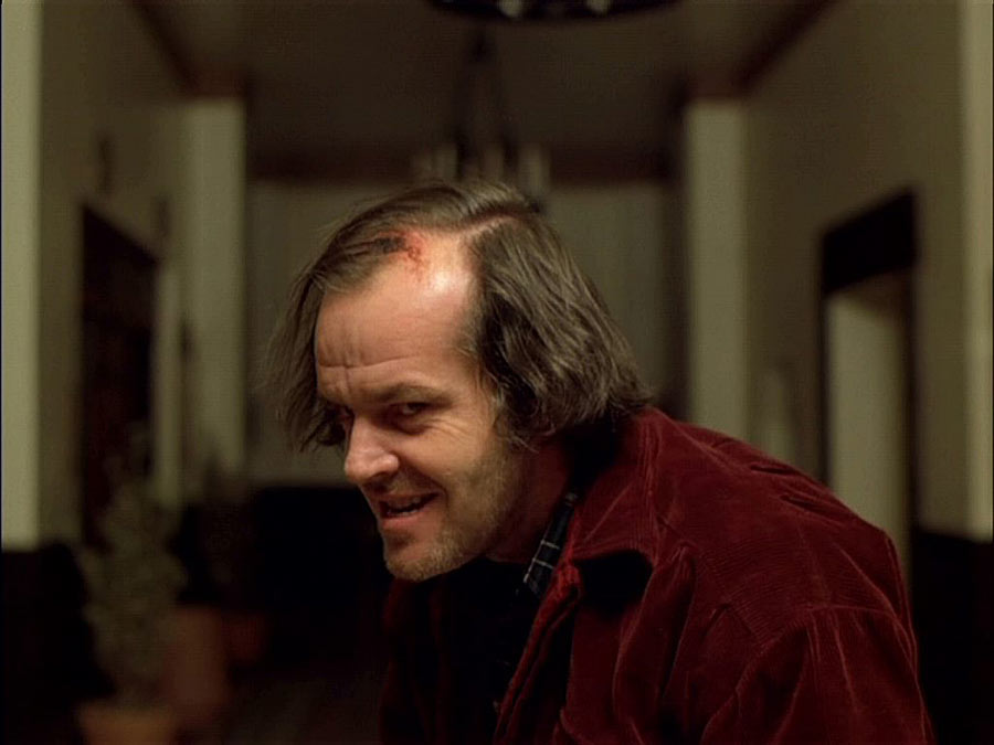 the shining jack nicholson - Horror in Print: My Personal Journey With Horror (Swimming Upstream PART 5)