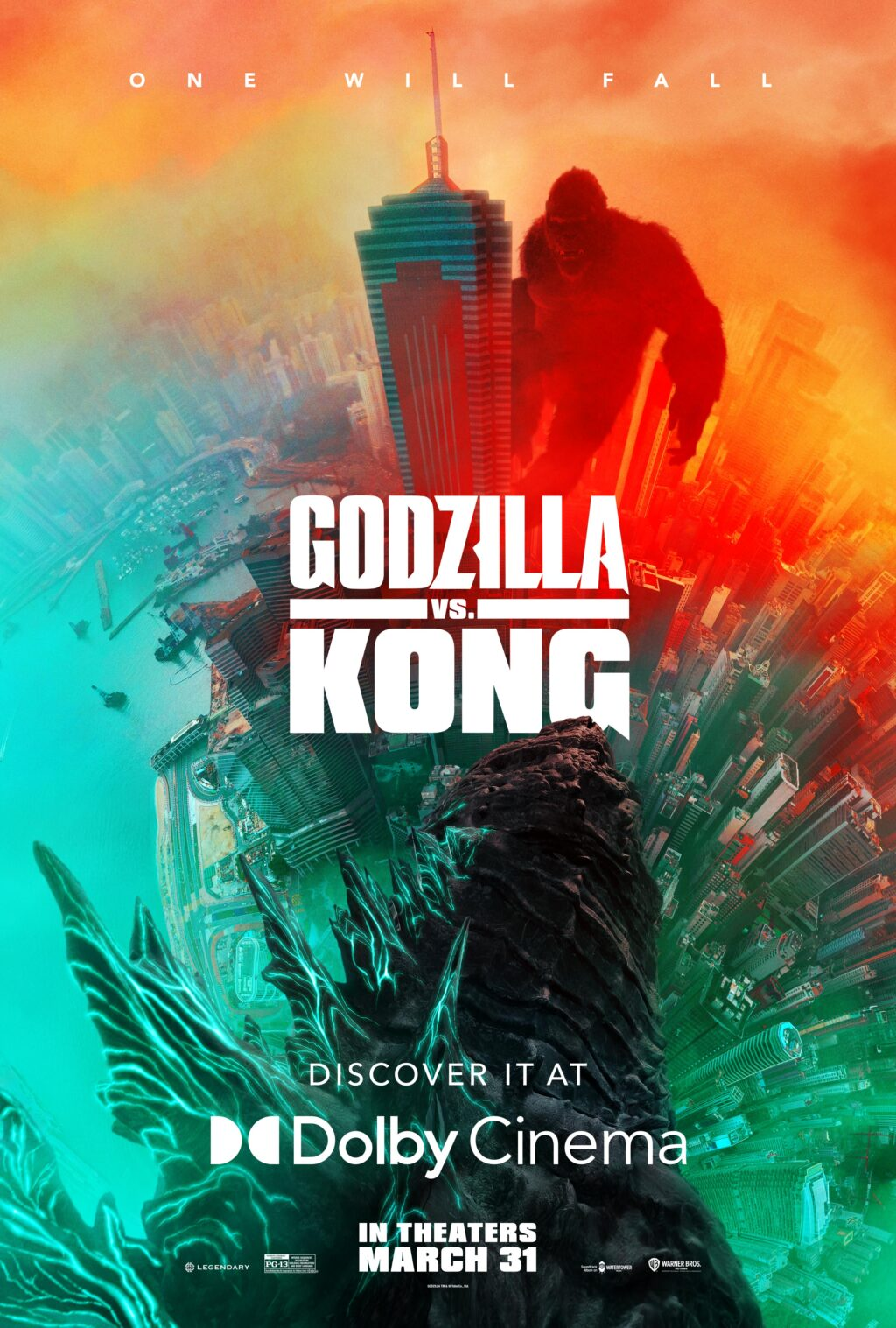 Godzilla vs Kong poster 2 1024x1517 - The Entire MonsterVerse Has Now Been Encapsulated Into a Single Poster