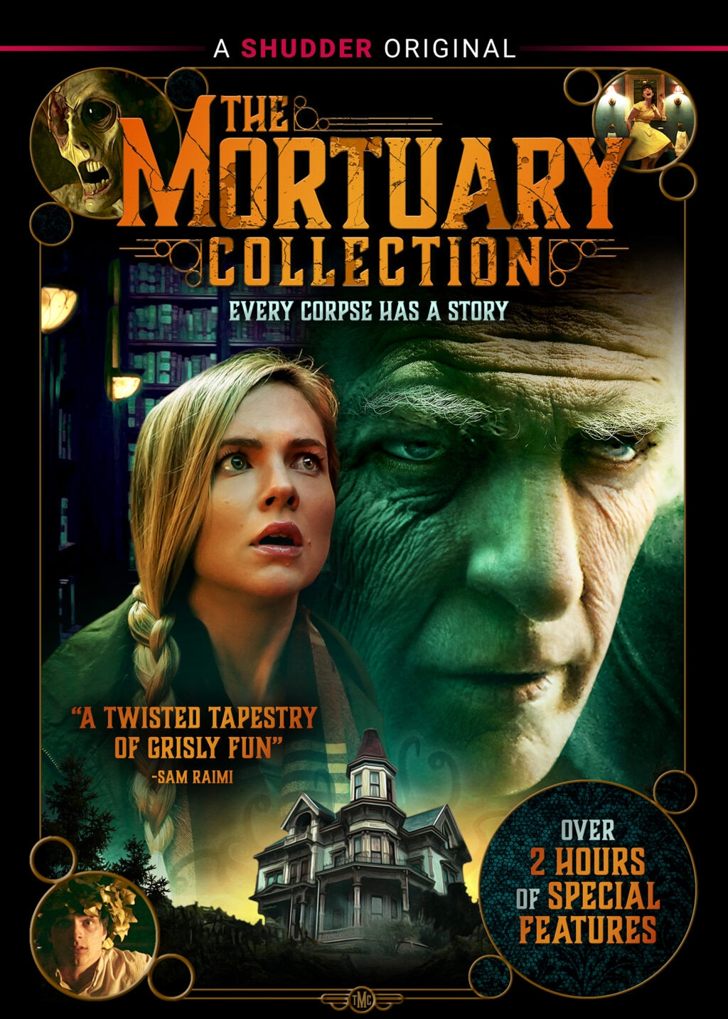 MortuaryCollection DVD HIC 1024x1434 - New Trailer Takes Us Behind-the-Scenes of THE MORTUARY COLLECTION [Video]