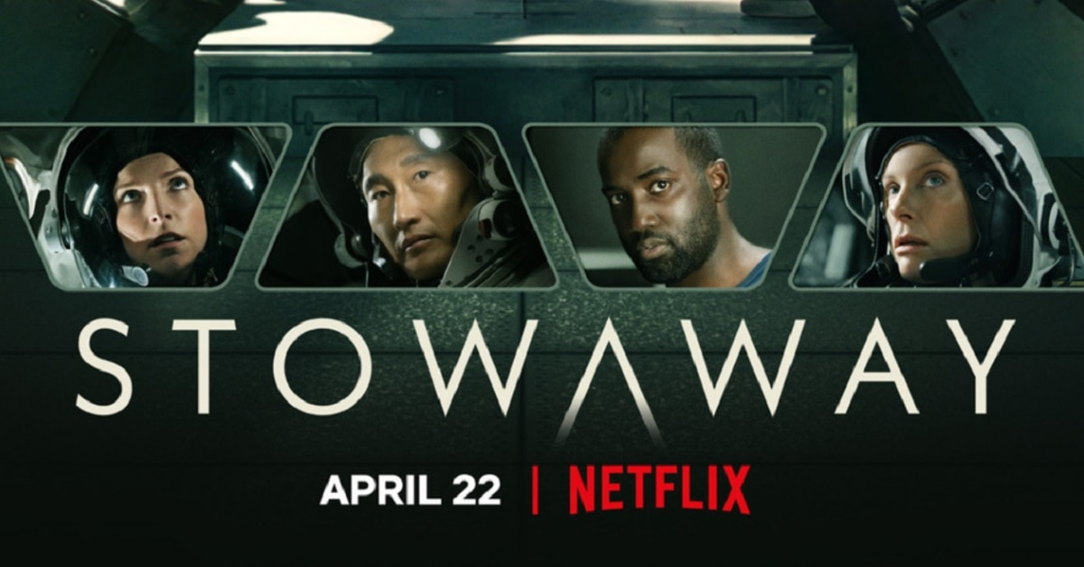 New Poster: Netflix's STOWAWAY with Toni Collette and Anna Kendrick