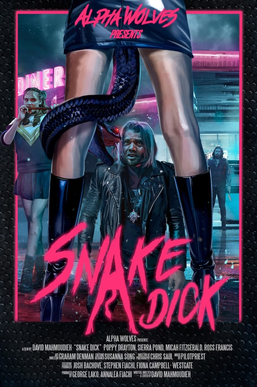 Snake Dick Poster - Exclusive Clip from Horror Short SNAKE DICK Arriving on ALTER March 8th