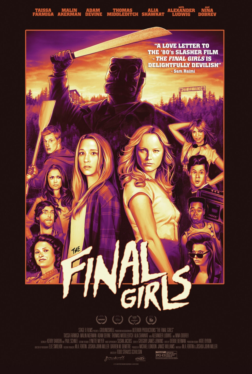 The Final Girls Poster 1024x1517 - Grief and Terror with THE FINAL GIRLS and PHANTASM