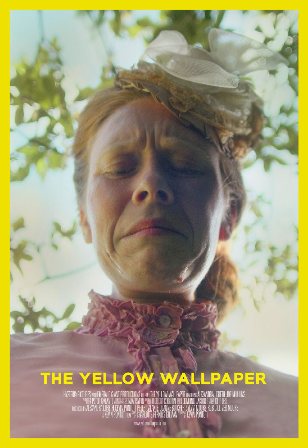 The Yellow Wallpaper Poster 1024x1487 - Trailer: THE YELLOW WALLPAPER (Based on Iconic Gothic Feminist Novella) World Premiering at Cinequest