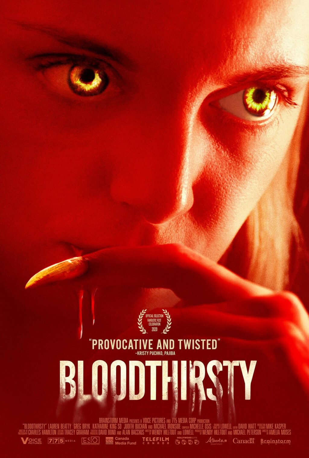 unnamed 52 1024x1517 - Trailer & Poster for Female-Fronted Werewolf Horror BLOODTHIRSTY Arriving April 23rd