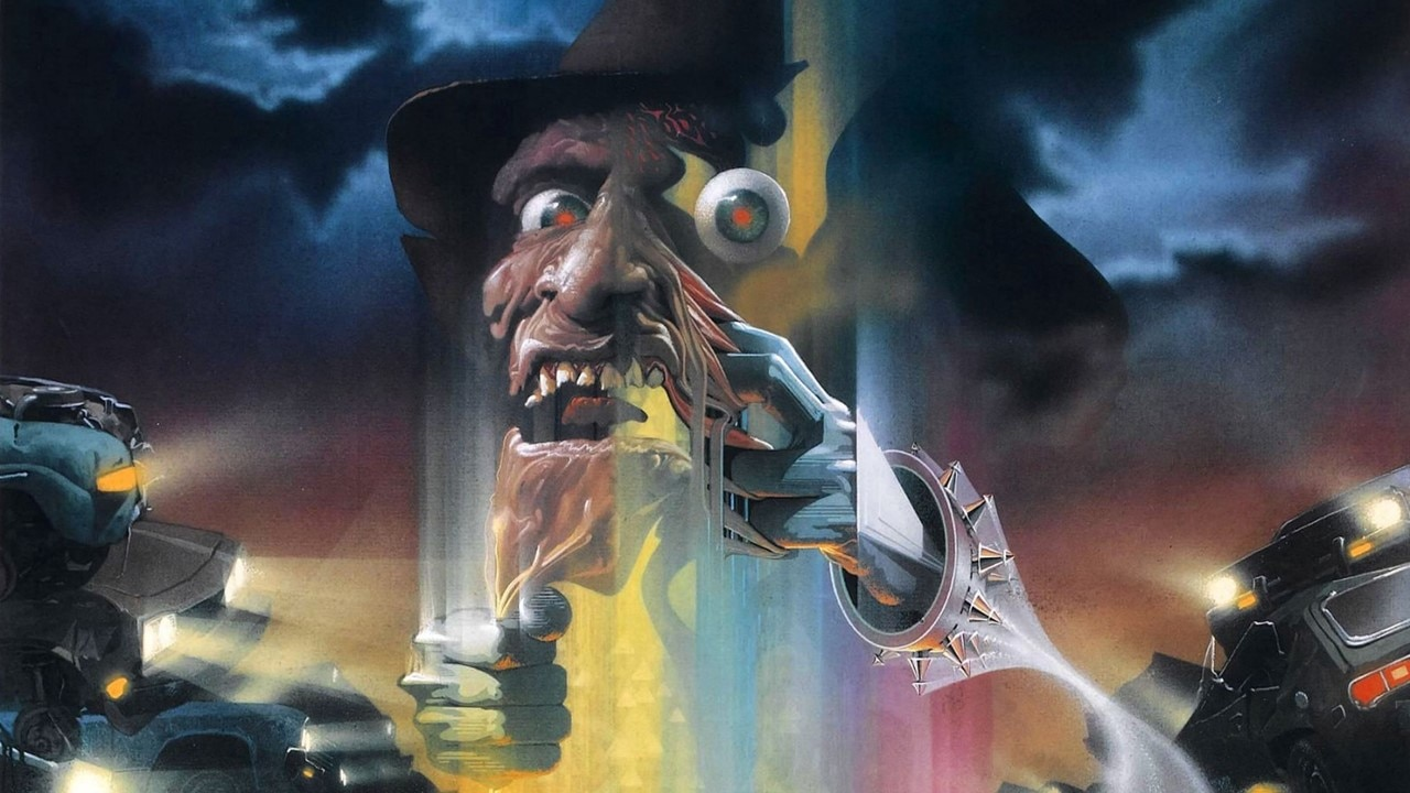 A Nightmare on Elm Street Part 4 Banner - Jerry Smith Looks Back at His Favorite Scary Movie Posters