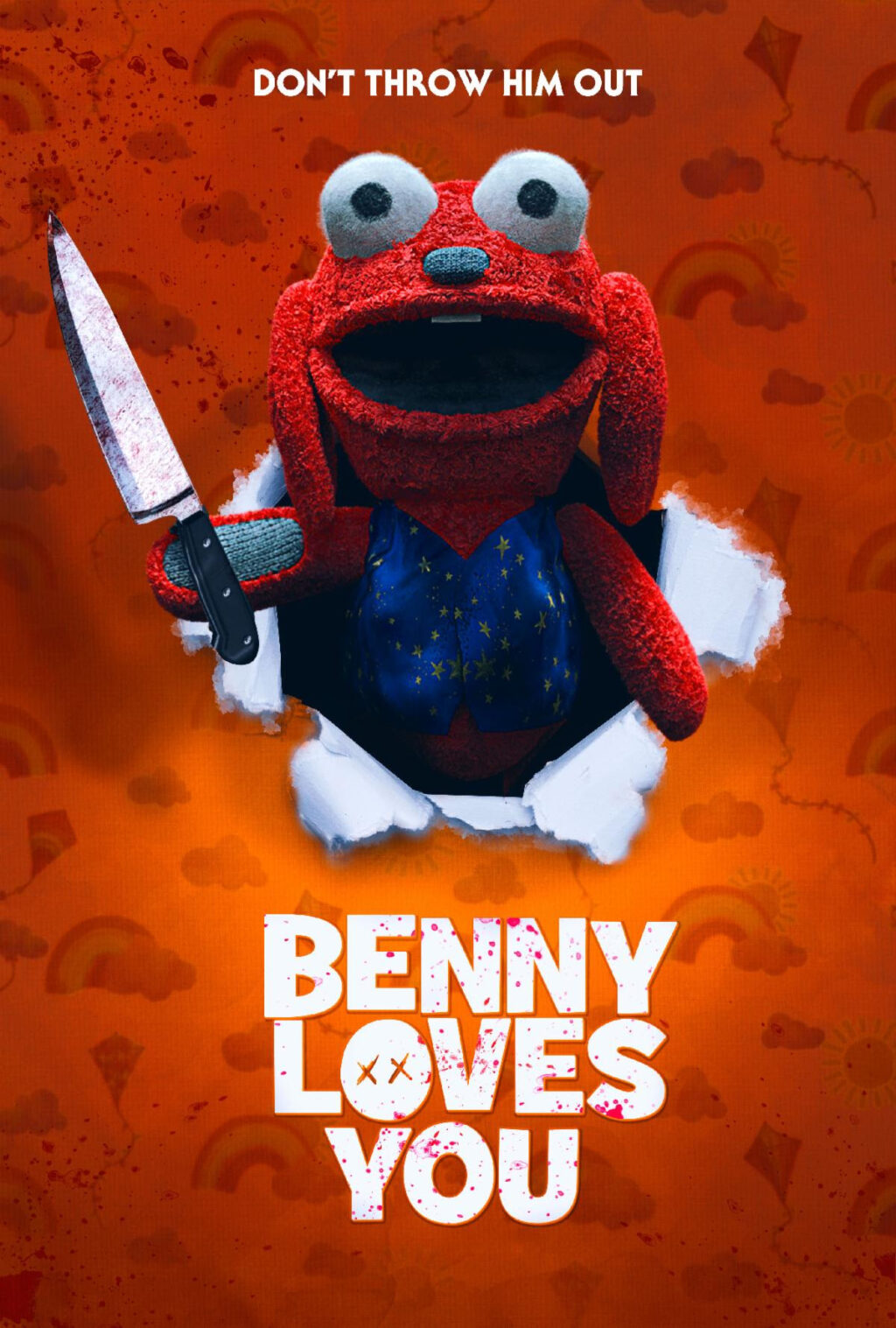 Benny Loves You 1024x1517 - Trailer: New DREAD Horror Comedy BENNY LOVES YOU in Theaters 5/7