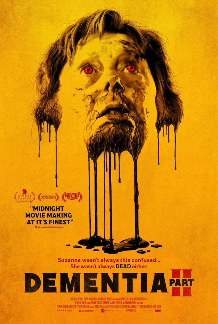 Dementia Part II poster 1 - Behold the Disgusting & Bloody New Trailer for DEMENTIA PART II