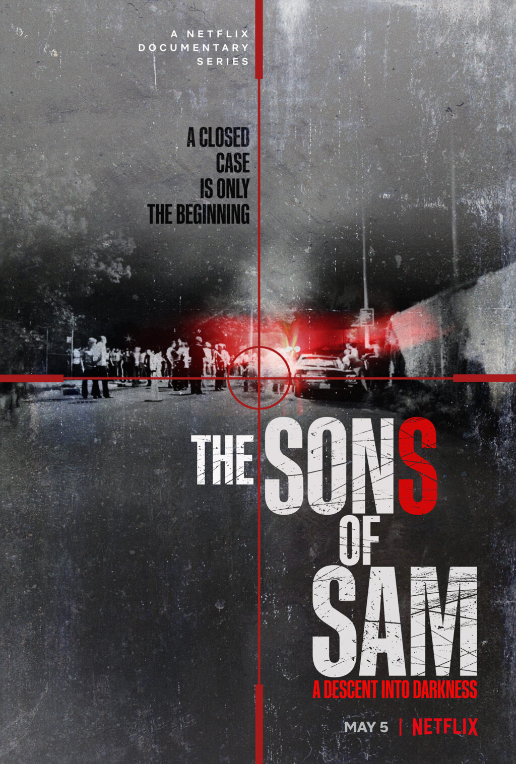 EN US Son Of Sam Main Vertical 27x40 RGB PRE 1024x1517 - New Netflix  True-Crime Docuseries THE SONS OF SAM: A DESCENT INTO DARKNESS