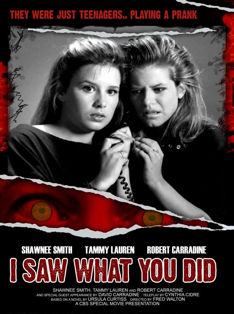 I Saw What You Did 1988 Poster - Small Screens, Big Scares: 10 More Terrifying TV Movies