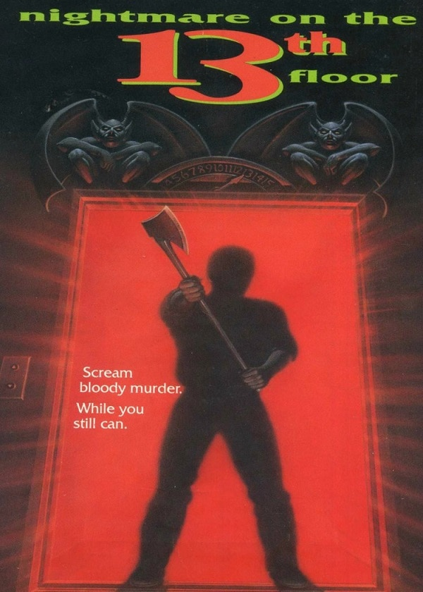 Nightmare on the 13th Floor 1990 Poster - Small Screens, Big Scares: 10 More Terrifying TV Movies