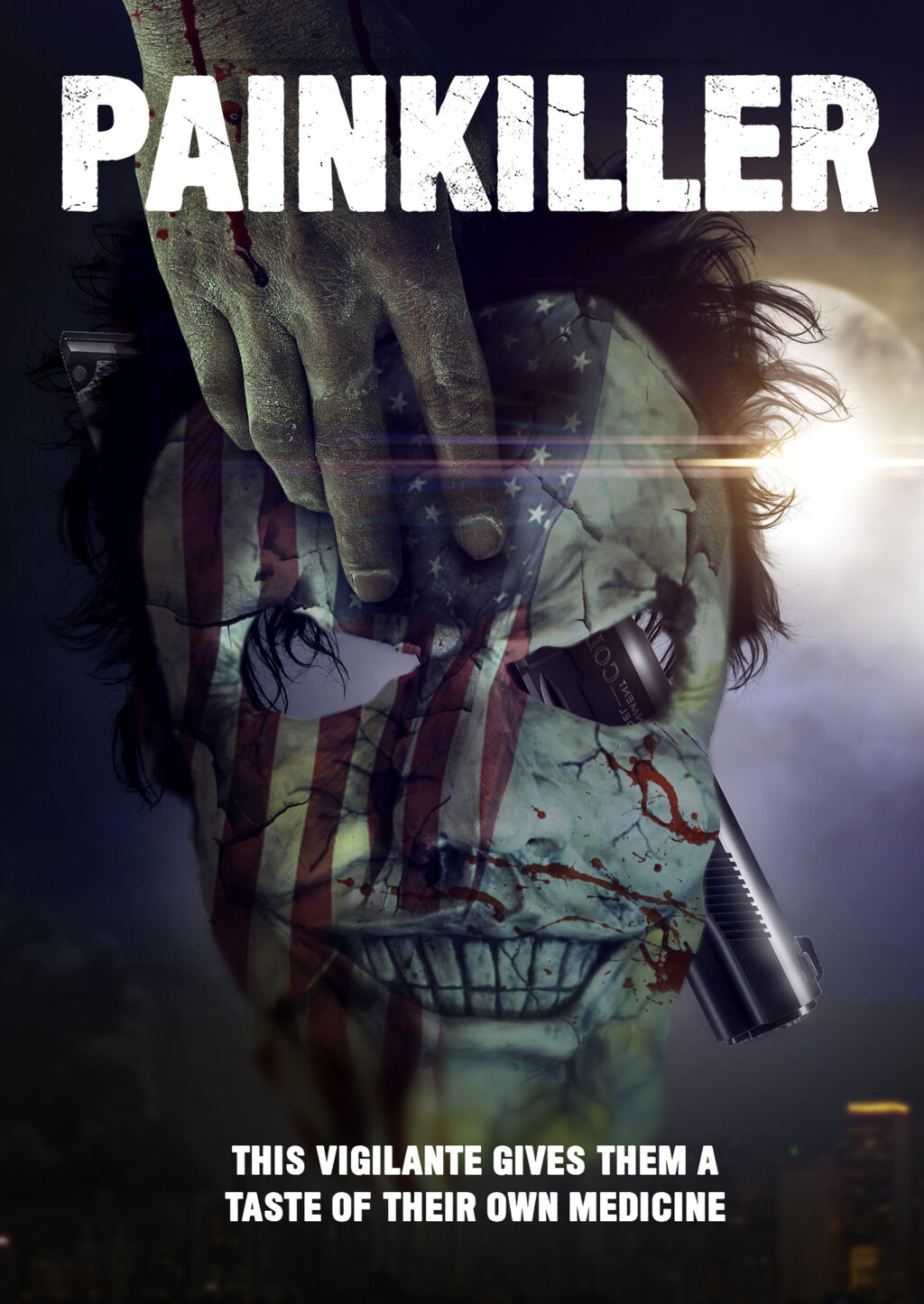 Painkiller Key Art 1024x1445 - Bill Oberst Jr. Stars in PAINKILLER Now Arriving May 4th
