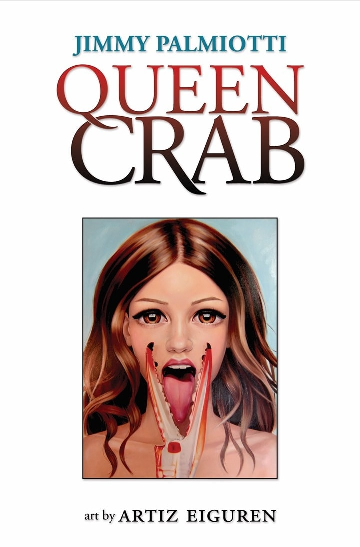 Queen Crab Cover - QUEEN CRAB Graphic Novel is Now Being Adapted for Television