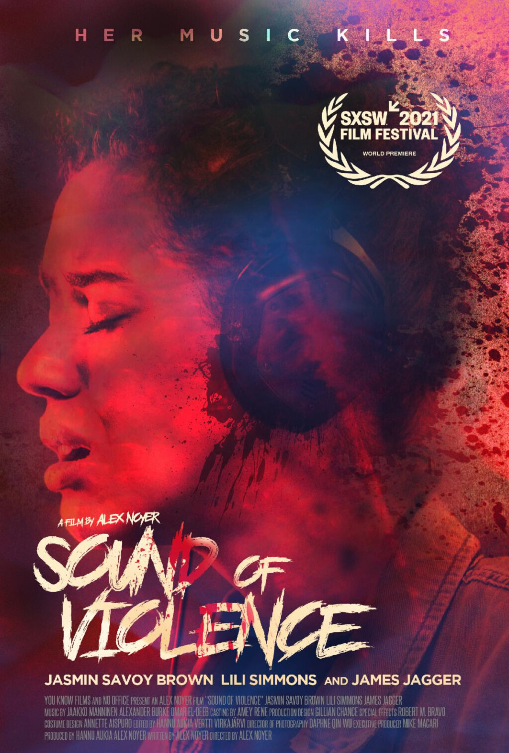 Sound of Violence Poster 1024x1516 - SOUND OF VIOLENCE is Now Set for VOD Release on May 21st