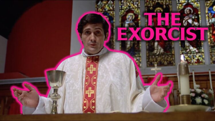 The Exorcist as romantic comedy banner 750x422 - YouTuber Now Re-Imagines THE EXORCIST as Romantic Comedy [Video]