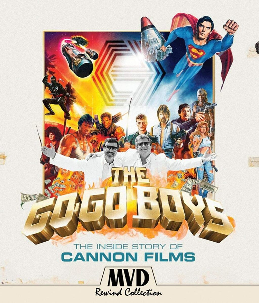 The Go Go Boys The Inside Story of Cannon Films will be released on Blu ray and DVD on July 20 1024x1198 - Cannon Films Doc GO-GO BOYS Now Hits Blu-ray 7/20
