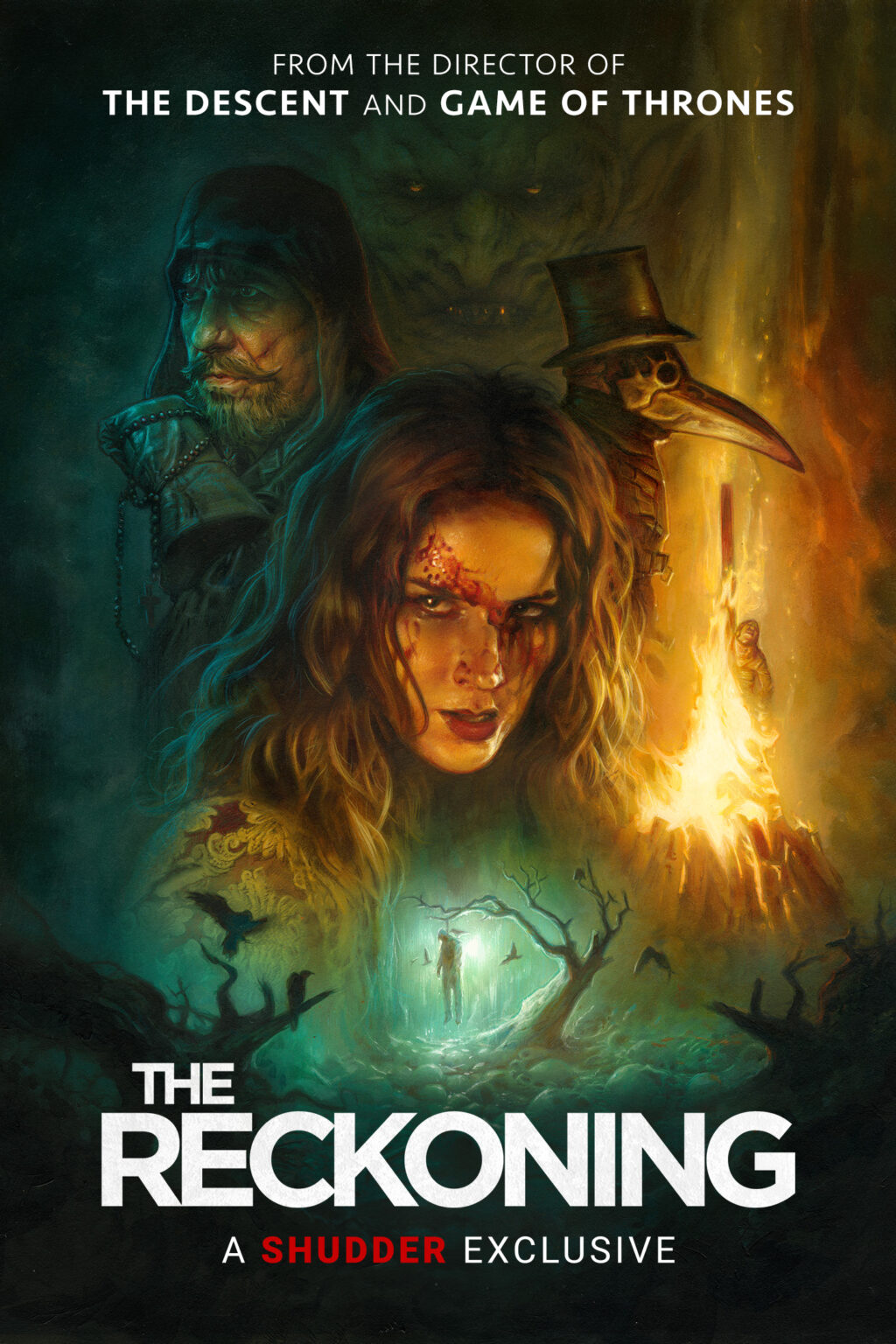The Reckoning YT PosterArt 1440x2160 1024x1536 - THE RECKONING Will Now Premiere on Shudder on May 13th