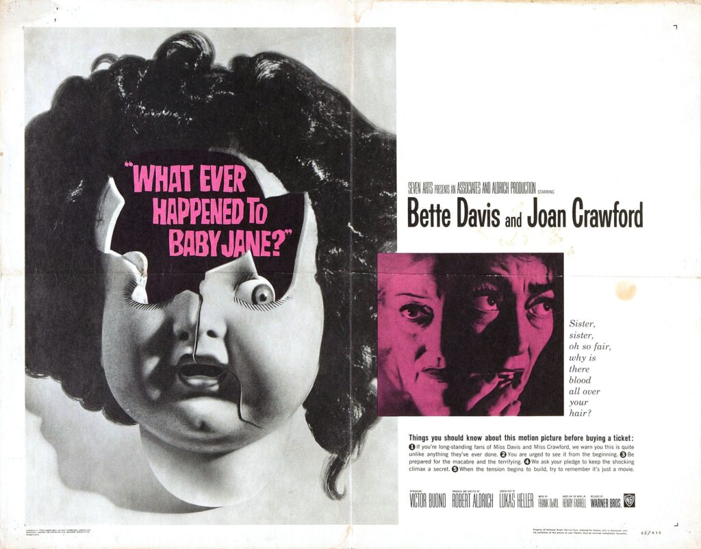 What Ever Happened to Baby Jane 1024x802 - 32 Must-See Horror Movies You Need to Stream on HBO Max Right Now