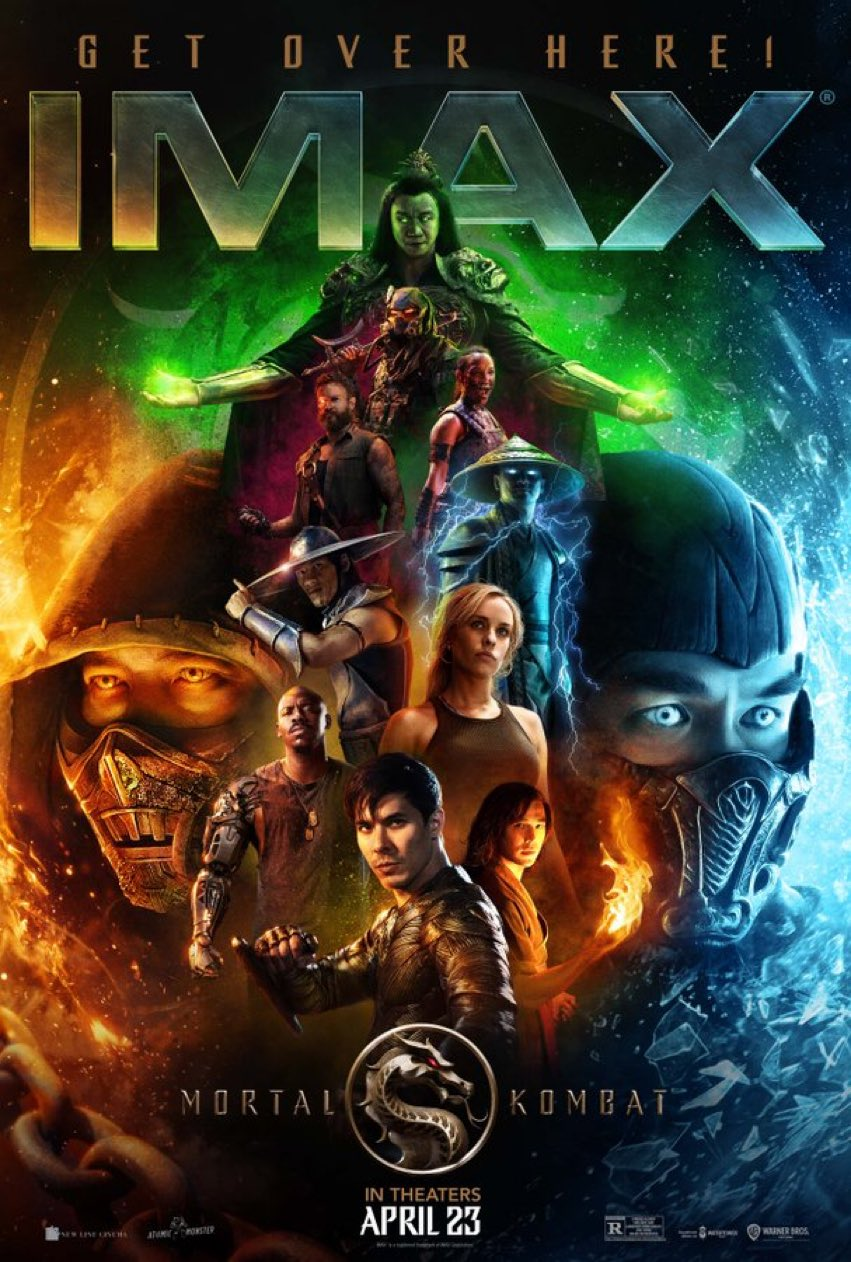 mortal kombat boss logic imax poster dread central - New Clip from MORTAL KOMBAT Features Sub-Zero in Action