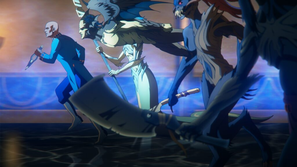 Castlevania 5 1024x576 - Check Out These New Images from the Final Season of CASTLEVANIA