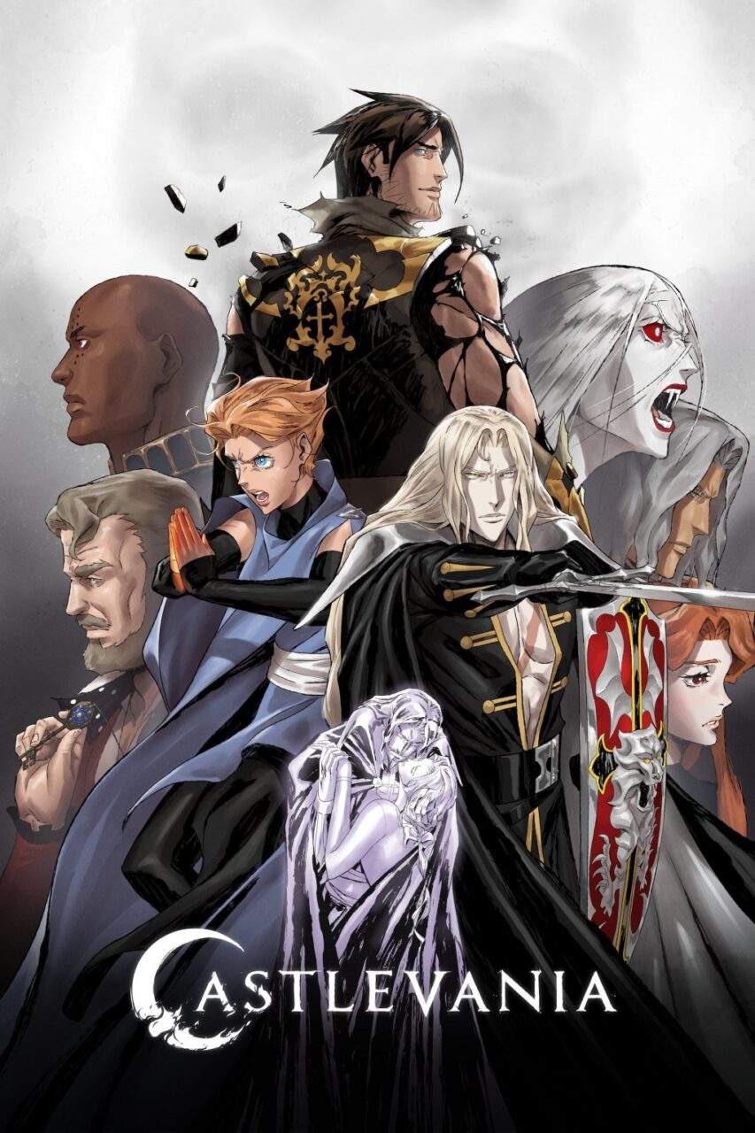 Castlevania Season 4 Poster 1 scaled - Check Out These New Images from the Final Season of CASTLEVANIA