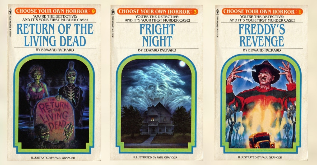 Photo of Choose Your Own Adventure Now Meets Your Favorite 80s Scary Movies! [New Gallery]
