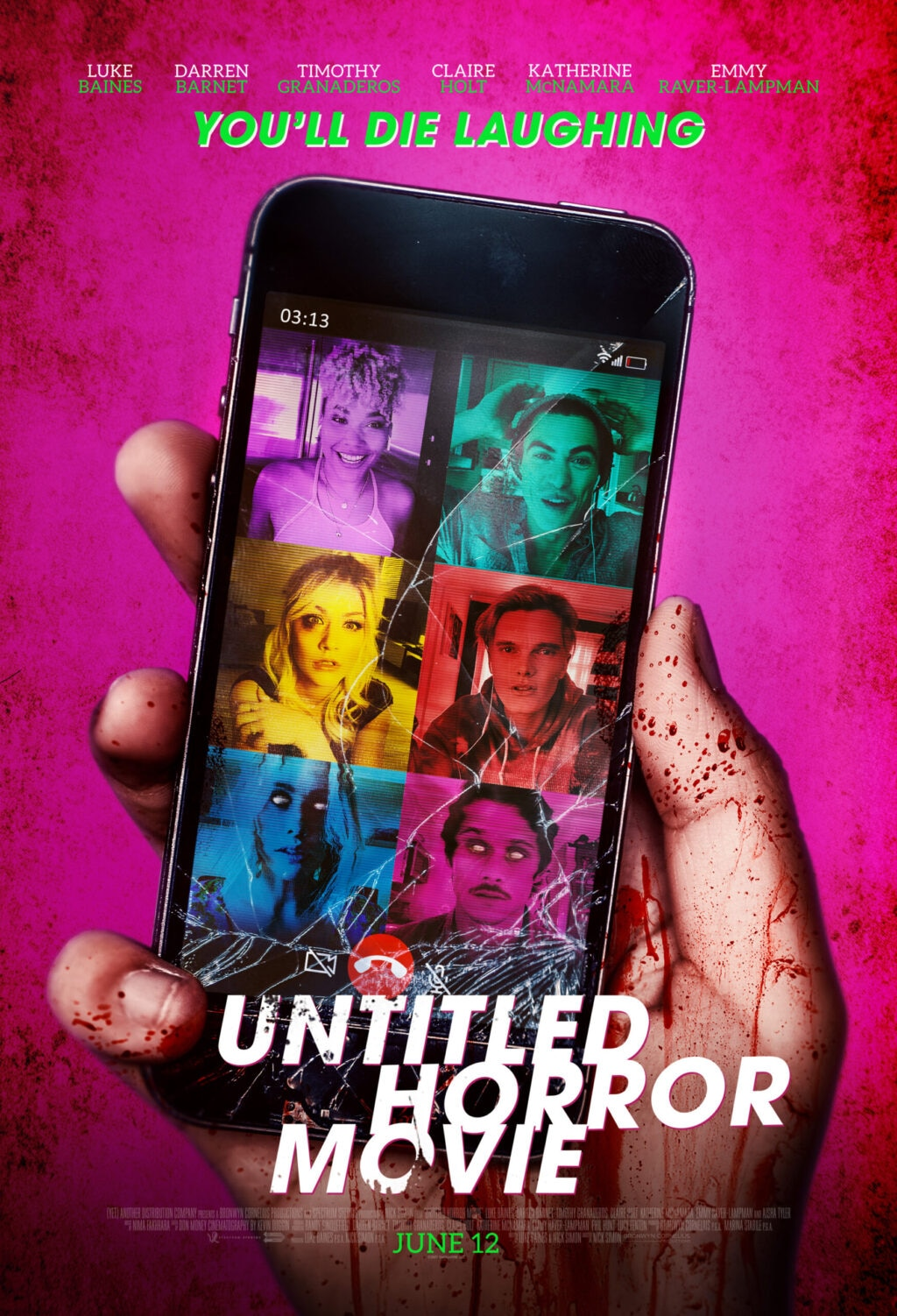 Poster Untitled Horror Movie Final 1024x1502 - Nothing Makes Sense in Trailer for New Meta-Comedy UNTITLED HORROR MOVIE