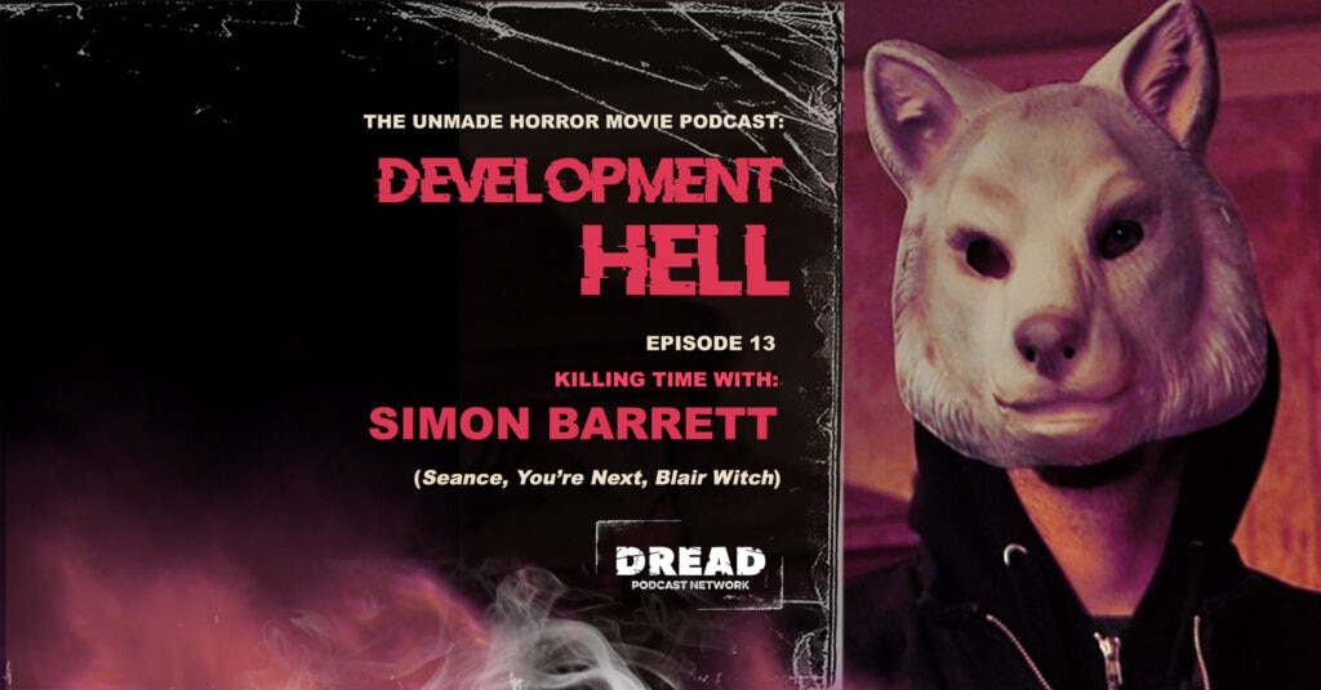 Simon Barrett feature 1024x536 - Development Hell Now Summons SEANCE Filmmaker Simon Barrett